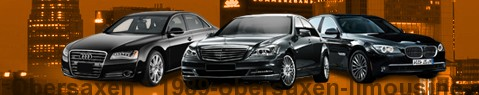 Private chauffeur with limousine around Obersaxen | Car with driver