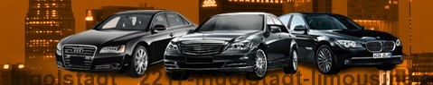 Private chauffeur with limousine around Ingolstadt | Car with driver
