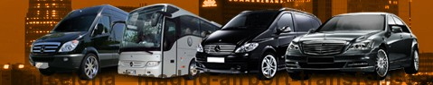 Private transfer from Barcelona to Madrid