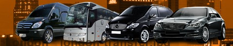 Transfer to London | Limousine | Minibus | Coach | Car