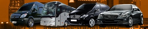 Private transfer from Saas-Fee to Saint Moritz