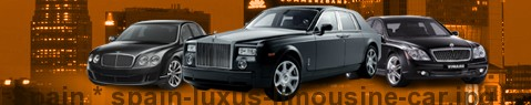 Luxury limousine Spain