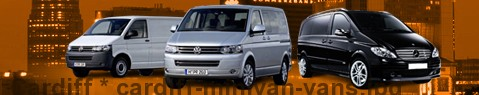 Hire a minivan with driver at Cardiff | Chauffeur with van