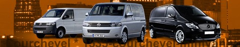 Hire a minivan with driver at Courchevel | Chauffeur with van