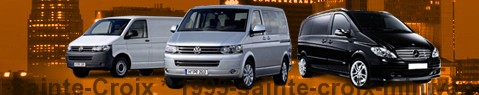 Hire a minivan with driver at Sainte-Croix | Chauffeur with van