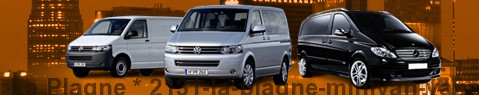 Hire a minivan with driver at La Plagne | Chauffeur with van
