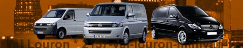 Hire a minivan with driver at Val Louron | Chauffeur with van
