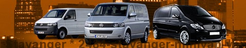Hire a minivan with driver at Stavanger | Chauffeur with van