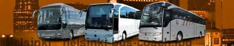 Coach Hire Helsinki | Bus Transport Services | Charter Bus | Autobus