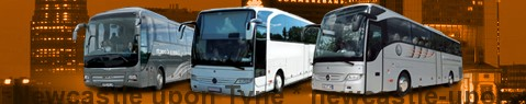Coach Hire Newcastle upon Tyne | Bus Transport Services | Charter Bus | Autobus