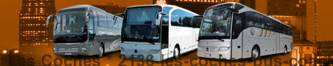 Coach Hire Les Coches | Bus Transport Services | Charter Bus | Autobus