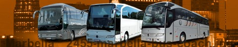 Coach Hire Marbella | Bus Transport Services | Charter Bus | Autobus