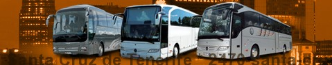 Coach Hire Santa Cruz de Tenerife | Bus Transport Services | Charter Bus | Autobus