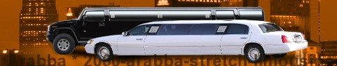 Stretch Limousine Arabba | Limos Arabba | Limo hire