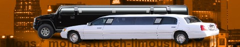 Stretch Limousine Mons | Limos Mons | Limo hire