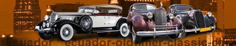 Automobile classica Ecuador | Automobile antica