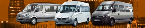 Minibus hire Luxembourg - with driver | Minibus rental