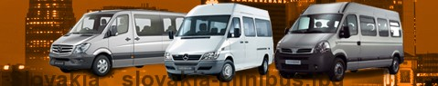 Minibus hire Slovakia - with driver | Minibus rental