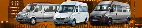 Minibus hire Londonderry - with driver | Minibus rental