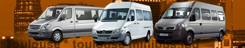 Minibus hire Toulouse - with driver | Minibus rental