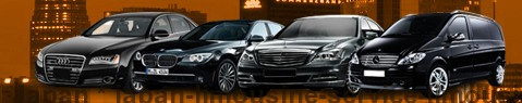 Limousine Service Japan | Chauffeured car service