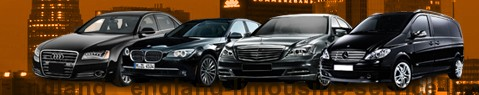 Limousine Service England | Chauffeured car service