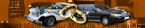 Wedding Cars Saint-Maurice-sur-Moselle | Wedding Limousine