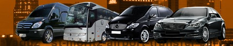Private transfer from Vaduz to Saint Moritz