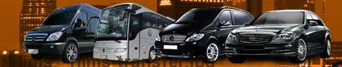 Transfer to Flims | Limousine | Minibus | Coach | Car