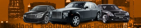 Luxury limousine Scotland