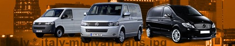 Hire a minivan with driver at Italy | Chauffeur with van