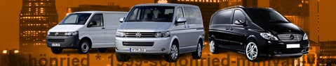 Hire a minivan with driver at Schönried | Chauffeur with van