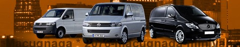 Hire a minivan with driver at Macugnaga | Chauffeur with van