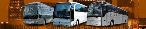 Coach Hire Cambodia | Bus Transport Services | Charter Bus | Autobus