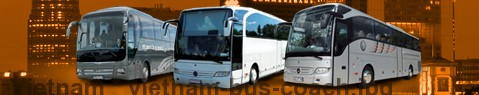 Coach Hire Vietnam | Bus Transport Services | Charter Bus | Autobus