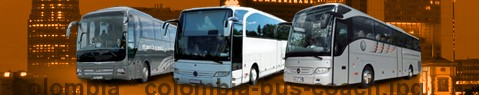 Coach Hire Colombia | Bus Transport Services | Charter Bus | Autobus