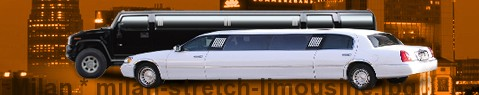 Stretch Limousine Service in Milan - Limos hire | Limousine Center Italy
