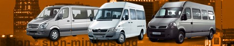 Minibus hire Sion - with driver | Minibus rental