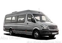 Minibus hire Abu Dhabi - with driver | Minibus rental